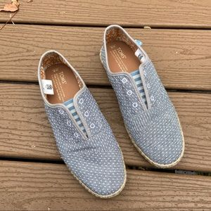 NWOT Toms pull on sneakers